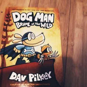 Children's book, dog man of the wild comic book